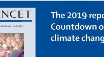 The Lancet 2019 Report on Health and Climate Change Image
